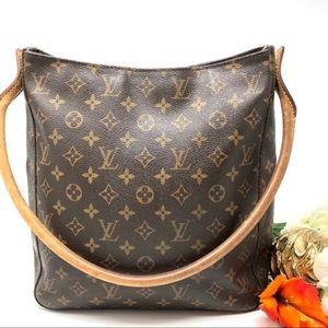 Auth Louis Vuitton Looping GM Shoulder Bag L33S140